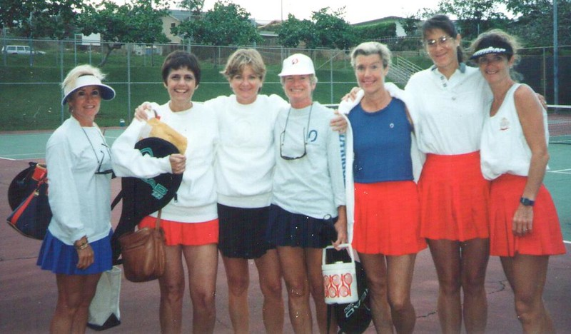 1995 OCC Women's Tennis Team