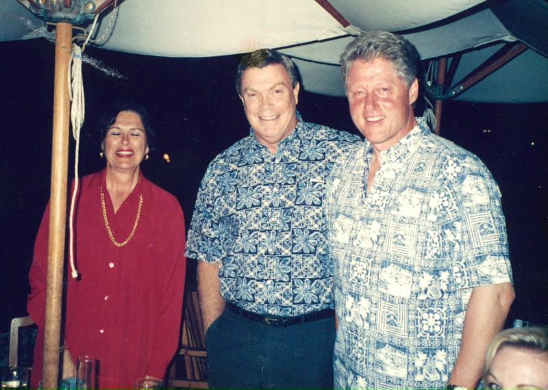 1995 President Clinton Visits OCC