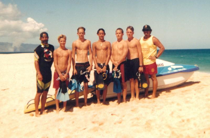 1995 OCC Junior Surf Team