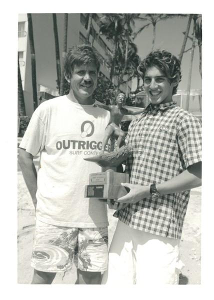 1995 John McMahon Junior Surfer Trophy