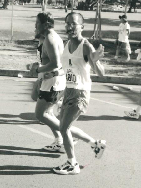 OCC Runner Arnold Lum