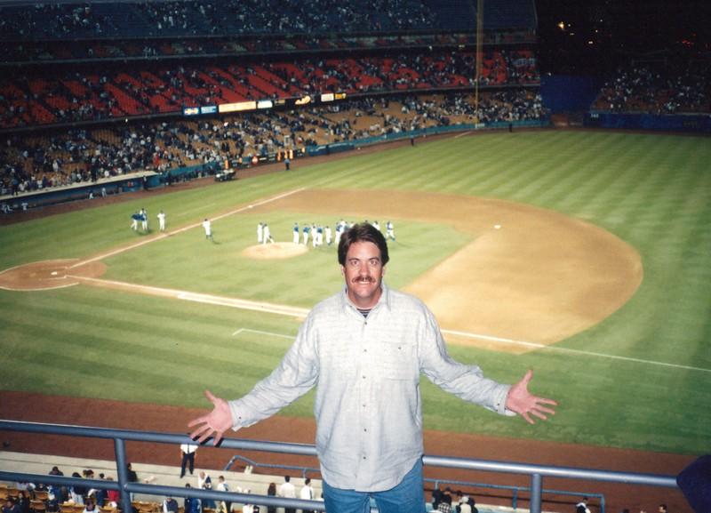 1998 Softball Coach Visits Dodger Stadium