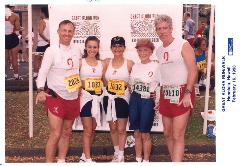 1998 Great Aloha Run