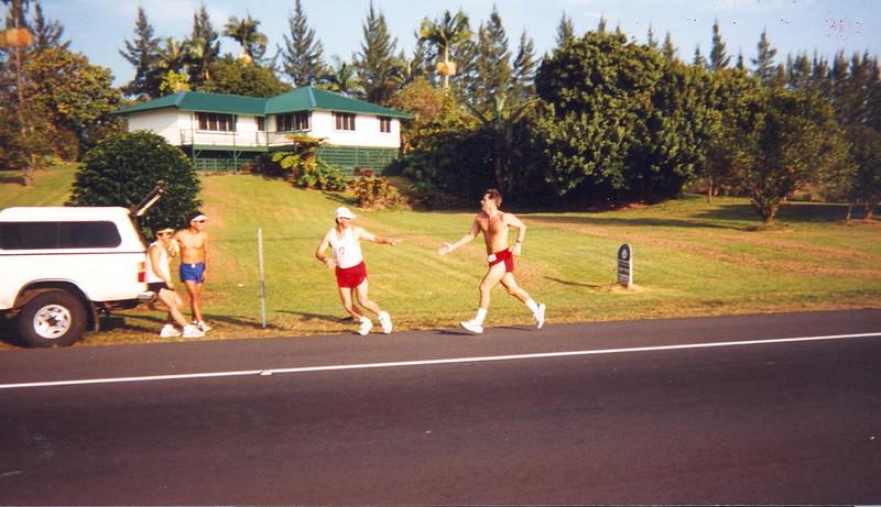 1998 Hilo Ultramarathon Volcano Relay