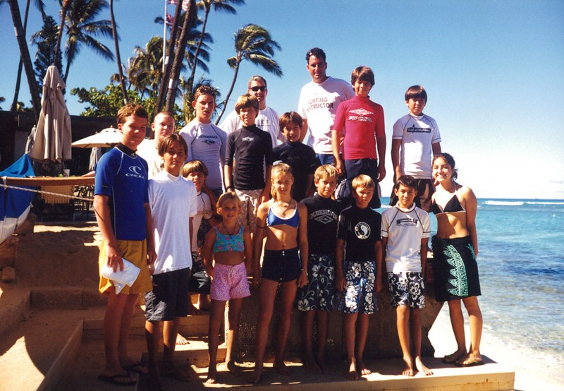 1999 Hans Hedemann Surf Clinic