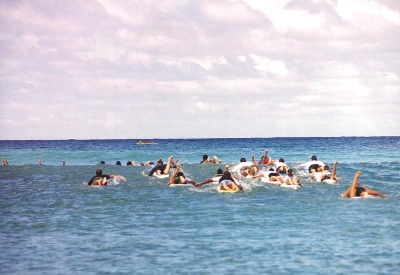 1999 Summer Surf Paddleboard Race