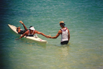 1st Annual Cline Mann Koolaupoko Paddleboard Race 7-8-2000
