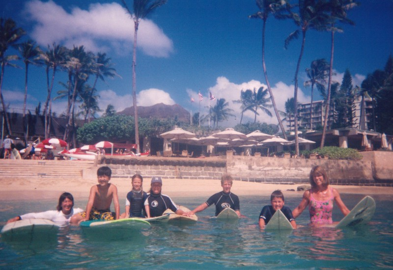 2000 Summer Surf Lessons
