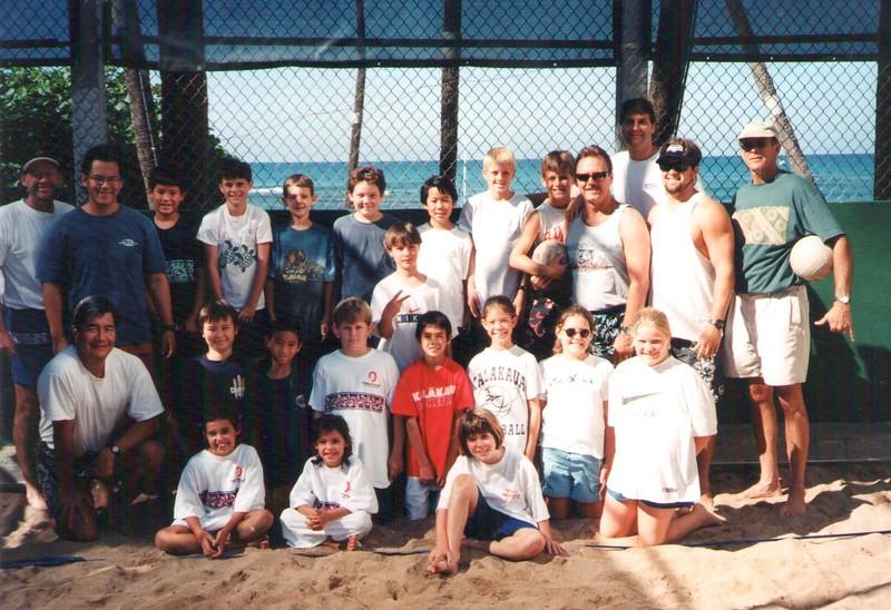 2000 Junior Volleyball Teams