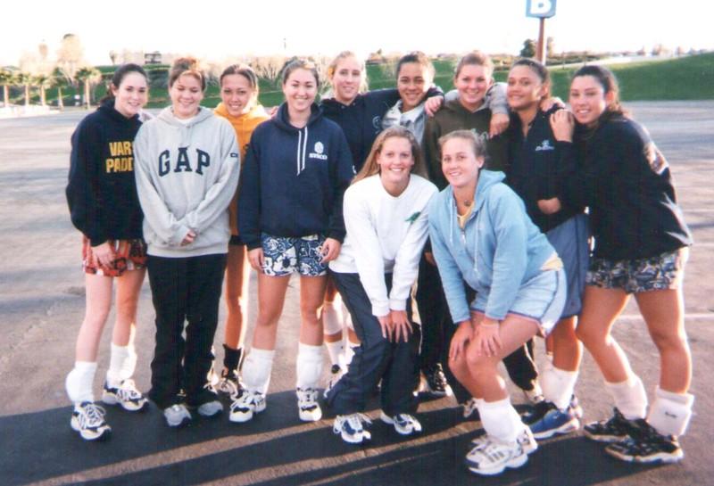 2000 OCC Girls 18 Volleyball Team