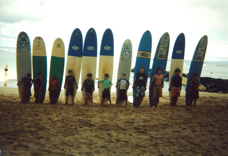 2001 Summer Surf Camp