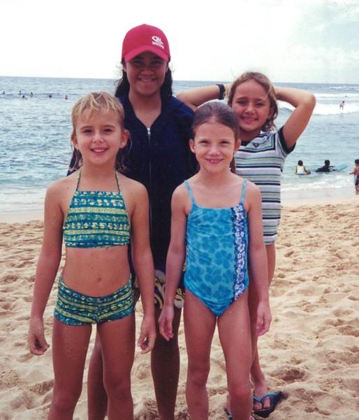2001 Roxy Wahine Surf Jam 2-10-2001