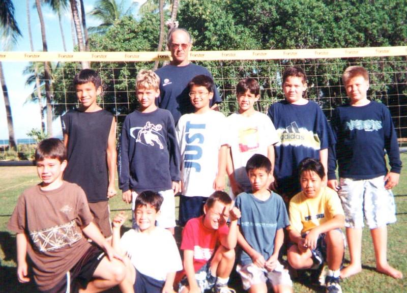 2001 Junior Volleyball Team
