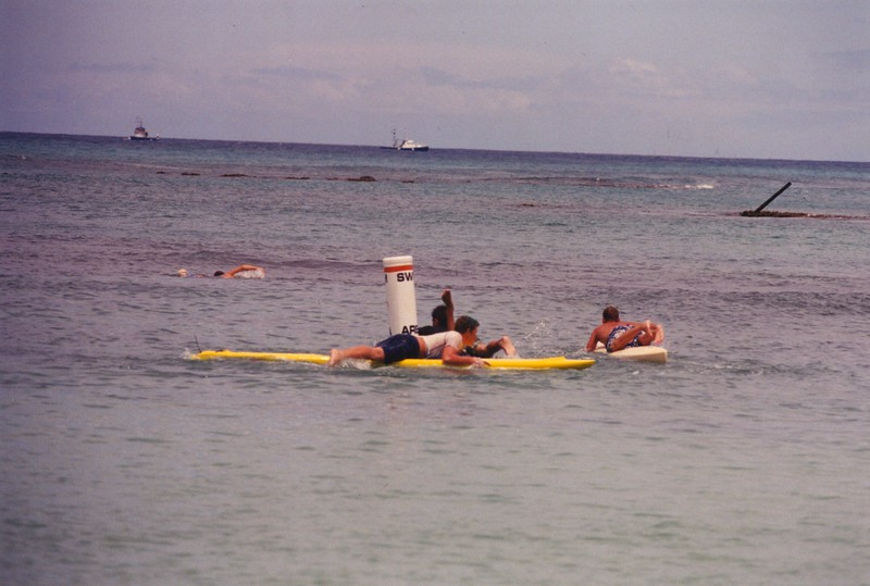 2001 Summer Surf Paddleboard Race