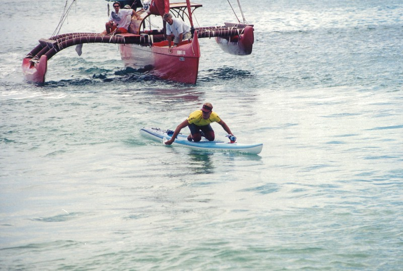 2001 Cline Mann Koolaupoko PB Race