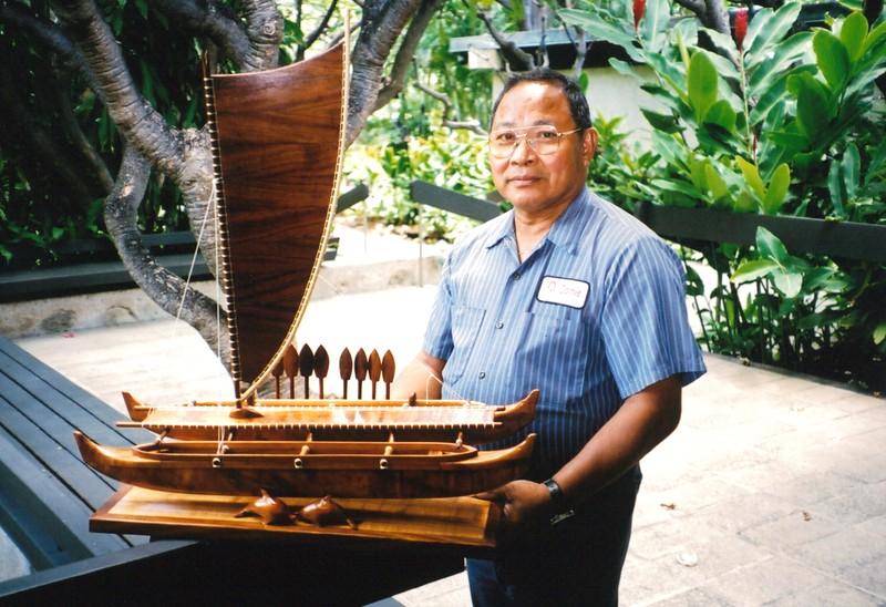 2002 Ali'i Wa'a Canoe