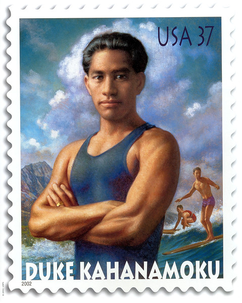 2002 USPS Honors Duke With a Stamp