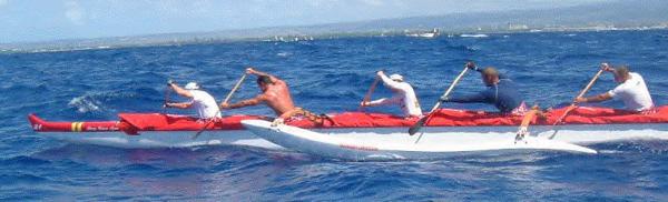 2002 Henry Ayau Men's International Canoe Race
