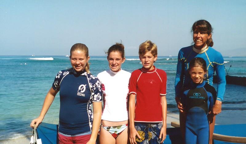 2003 Outrigger Junior Surf Team