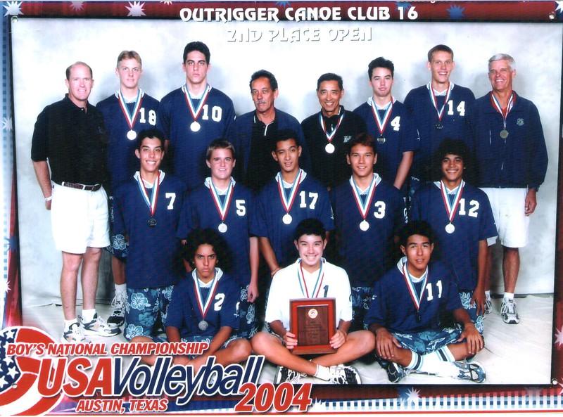 2004 USA Volleyball Junior Olympics