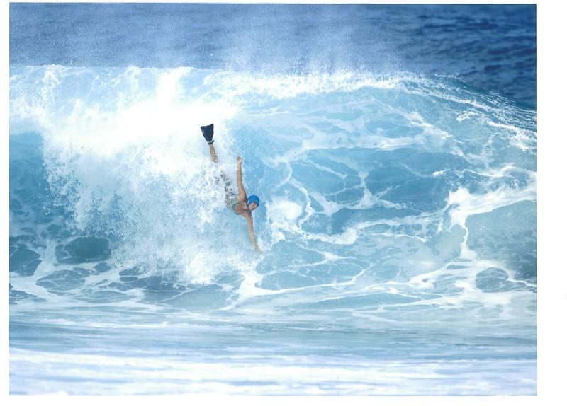 2005 Patagonia Pipeline Bodysurfing Contest
