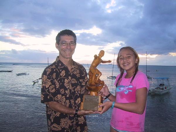 2005 John McMahon Outstanding Junior Surfer Trophy