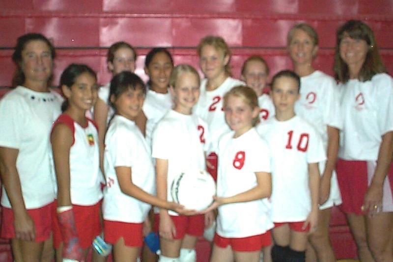 2005 Girls 12 Volleyball