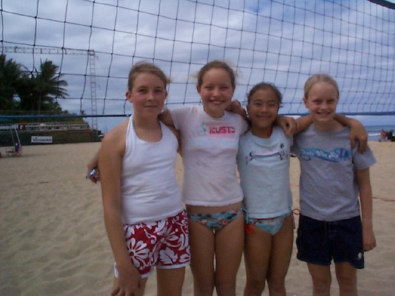 2005 Girls 12 Sand Volleyball