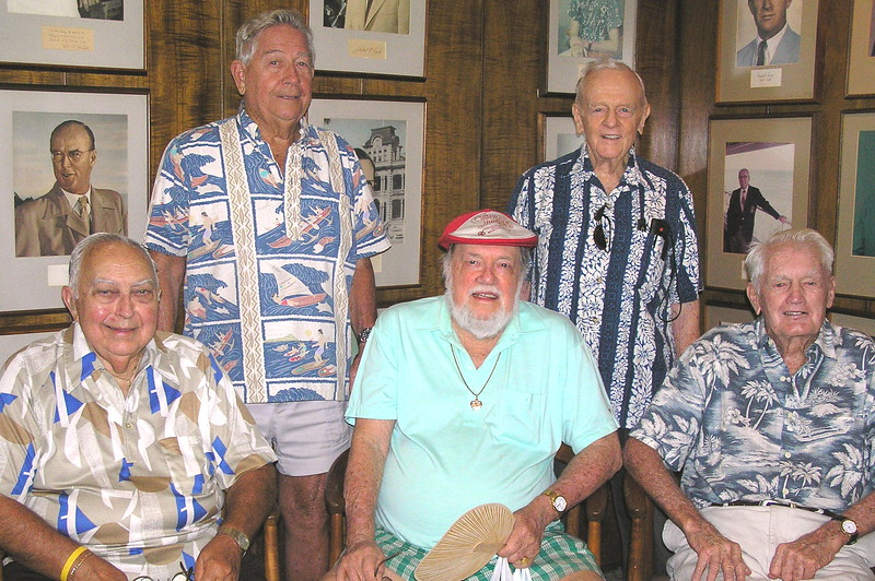 2005 Seventy-Year Outrigger Members