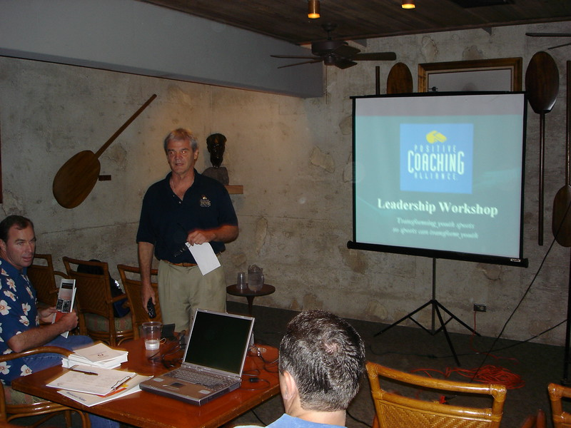 2005 Positive Coaching for Parents of Paddlers