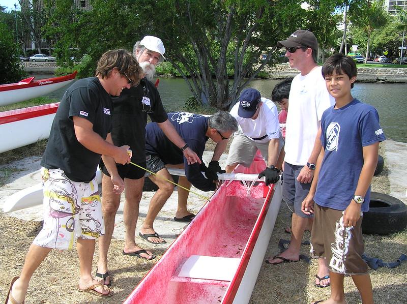 2005 Canoe Rigging Clinic