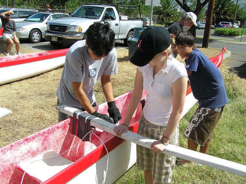 2005 Canoe Rigging Clinic