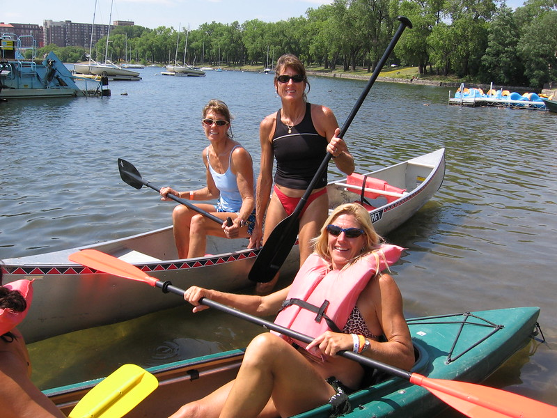 2006 Paddling in Minneapolis  Lake
