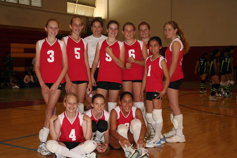 2006 Outrigger Girls 12 VB Team