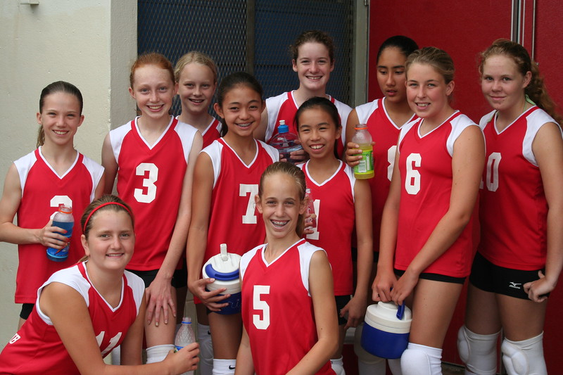 2006 Outrigger Girls 13 Volleyball Team