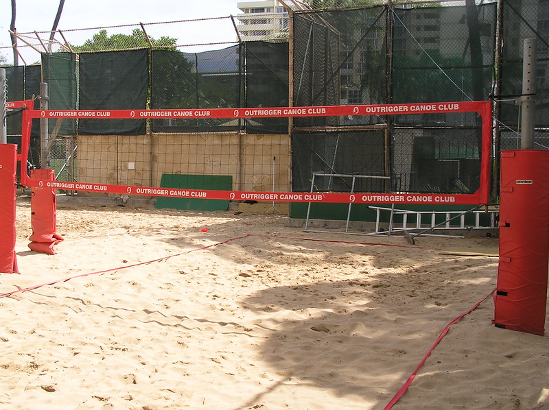 2006 Outrigger Canoe Club Volleyball Court