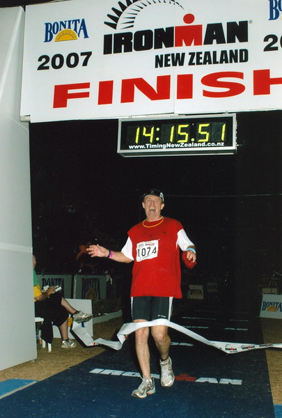 2007 Ironman Triathlon New Zealand 3-3-2007