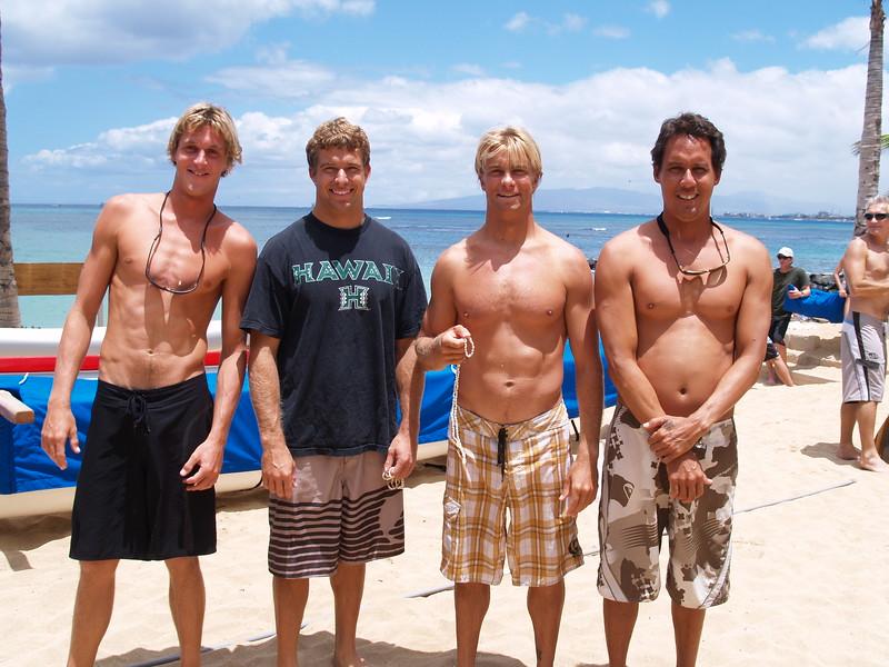 2007 Summer Surf Paddleboard Relay