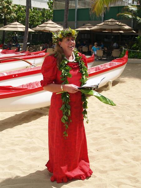 2008 Canoe Blessing Kai Liʻoliʻo, Cline, Puʻeone