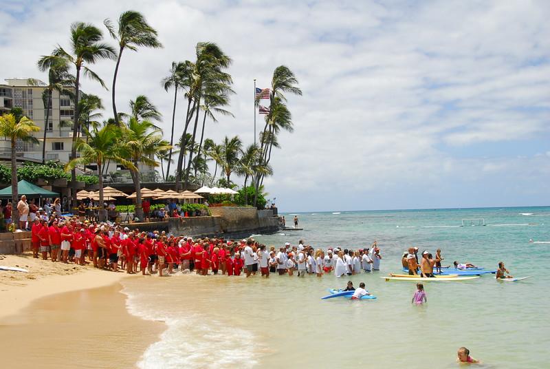 2008 Outrigger Canoe Club Centennial Club Day