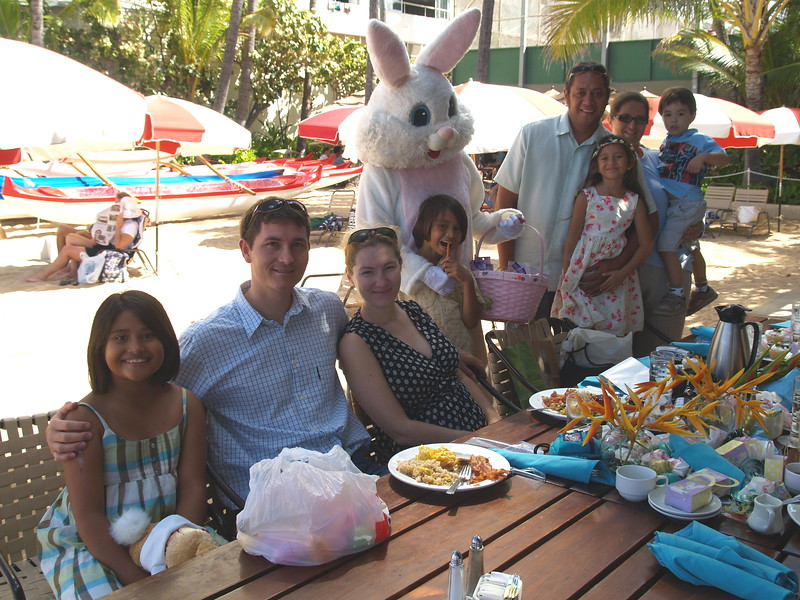 2008 Easter Sunday Brunch