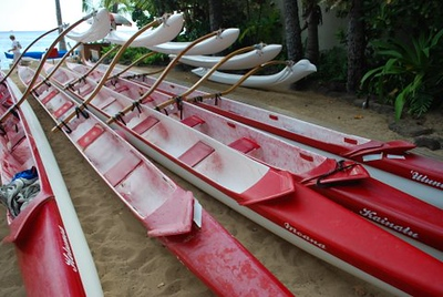 2009 Outrigger Practice Canoes