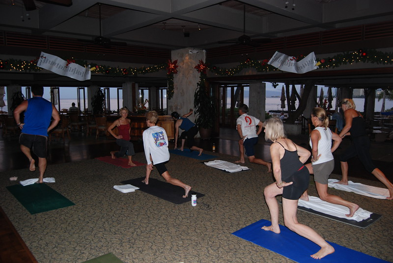 2009 Core Fitness Class