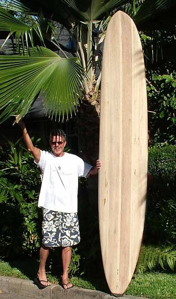 2009 Alalia Wood Surfboard Builder