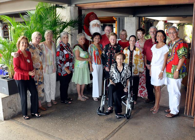 2010 OCC Bridge Club Christmas Party