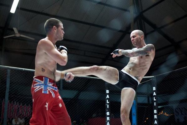 2010 Bali Brawl MMA Fight