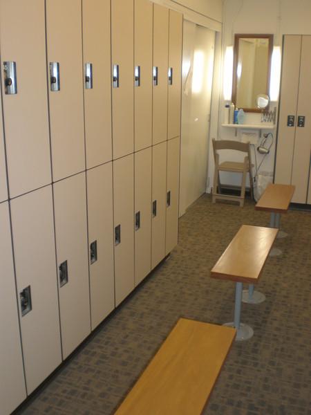 2010 Remodeled Women's Locker Room