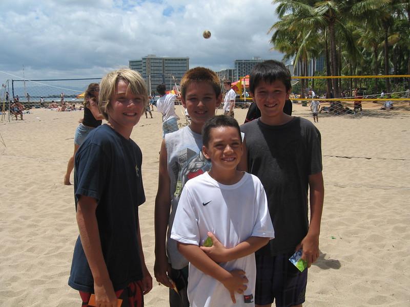 2010 Queen's 4-Man Beach Tournament
