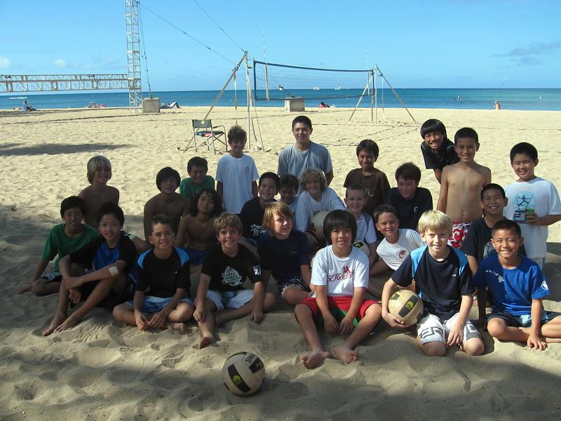 2010 Oahu Volleyball Assn Beach Tournament