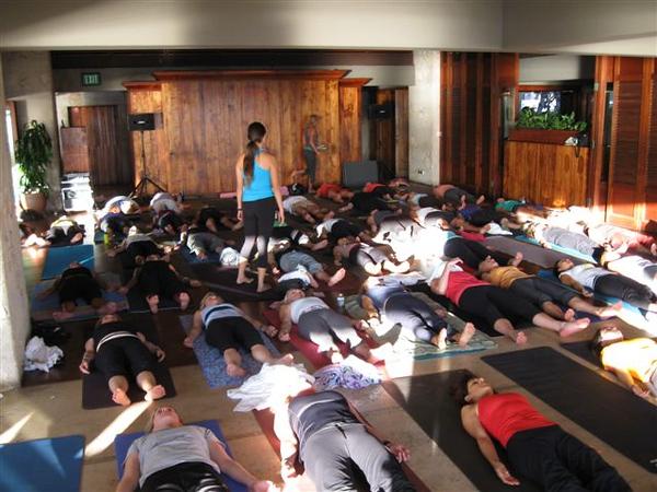 2010 Yoga-Wine Party